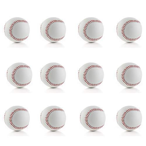 野球硬式ボール 硬球練習用 練習球 バッティング練習 キャッチボールトスバッティング 捕球の練習 12個入り
