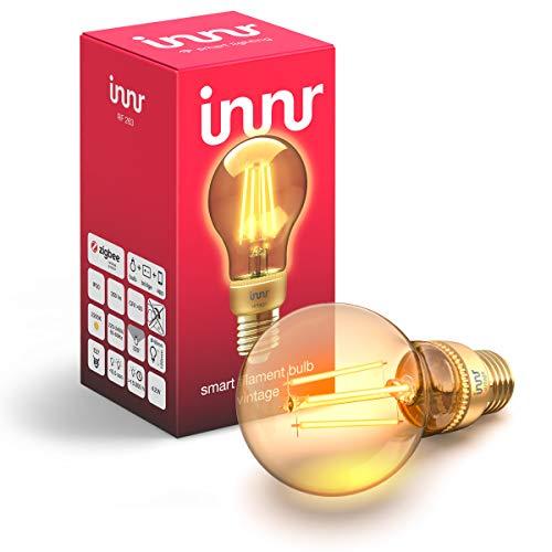 Preisvergleich Produktbild Innr E27 Smart Filament LED Lampe,  kompatibel mit Philips Hue* & Alexa (bridge erforderlich),  Vintage,  2200K,  1-Pack,  RF 263