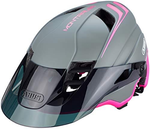 ABUS MonTrailer Mountainbike-Helm - Robuster Fahrradhelm für den Geländeeinsatz - für Damen und Herren - 81709 - Pink, Größe M