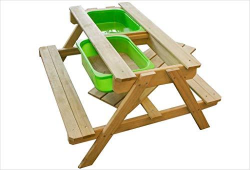Sunny Dual Top Table Sand & Wasser Picknicktisch Tisch, Holz