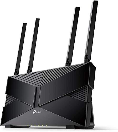 TP-Link WiFi ルーター Wi-Fi6 11AX AX1800 1201 + 574 Mbps 1.5Ghz クアッド・コアCPU搭載 フルギガポート...