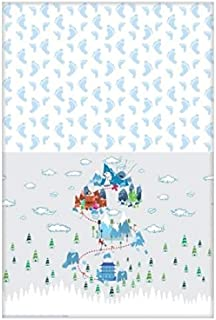 (Standard, White/Small) - SMALLFOOT Paper Tablecover 140cm x 240cm
