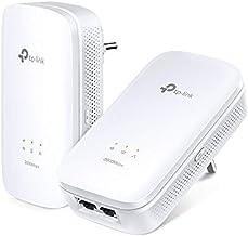 TP-Link TL-PA9020 Kit - PLC 2 Adaptadores de Comunicación por Línea Eléctrica (AV 2000 Mbps, PLC, Extensor, Repetidores de Red, Amplificador, 2 Puerto, Smart TV, PS4, Nintendo Switch)