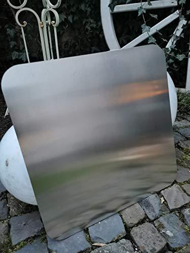 Metallzuschnitt Unterlegplatte für Feuerkörbe/Feuerschalen