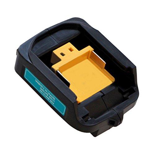 Sharplace 14V~18V USB Adapter Ladegräte für Makita Akku BL1830 BL1840 BL1850 in verschiedenen Farben - # 1 Schwarz