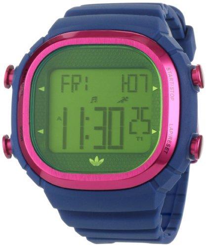 Adidas Sport Digital Response XL cronografo quadrante grigio orologio da uomo #ADP3050