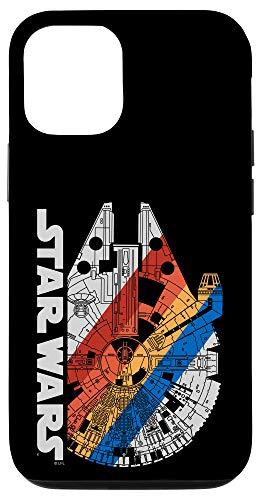 iPhone 12/12 Pro Star Wars Millennium Falcon Retro Stripe Case
