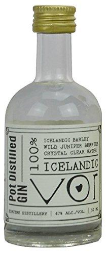 VOR Icelandic Gin (Island) - SMALL BATCH GIN 1x0,05l 47% Miniatur