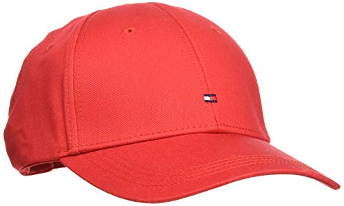 Tommy Hilfiger Classic BB Cap Gorra, Rojo (Apple Red 611), talla unica...