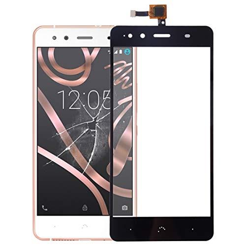 MENGHOGNGLIF Teléfonos móviles Piezas de Repuesto Panel táctil for BQ Aquaris X5 (Color : Black)