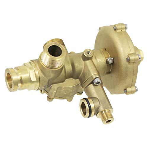 SPARES2GO Válvula desviadora/salida hidráulica compatible con calderas de calefacción central Baxi