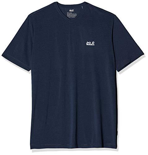 Jack Wolfskin Herren JWP T M Schnelltrocknendes T-Shirt, Night Blue, L