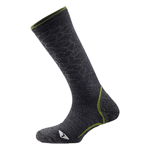 Salewa Ski Touring Wool SK - Chaussettes pour Homme, Couleur Gris, Taille 35-37