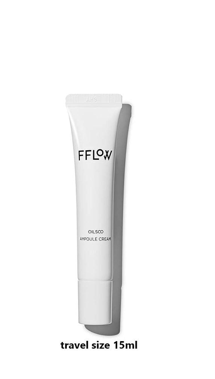 公然と潜在的な決定的FFLOW ☆フロー Oilsoo Ampoule Creamオイル水アンプルクリーム(travel size 15ml)[並行輸入品]