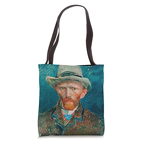 Vincent Van Gogh Self Portrait Painting Artwork Tote Bag