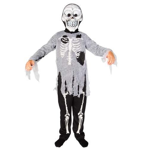 Imaginarium Halloween Zombie 128-134 CM Disfraz Esqueleto (8-9 años)