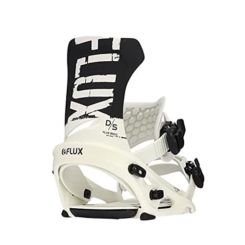 フラックス FLUX ビンディング 21-22 DS(ディーエス) BLACK/WHITE フラックス(2021-2022)日本正規品 スノーボード ビンディング【C1】 M(25-27.5cm)