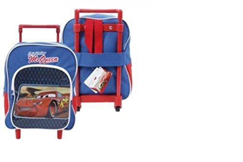 Kinder Schul-Trolley Disney Tasche Koffer 27cm Cars (blau)