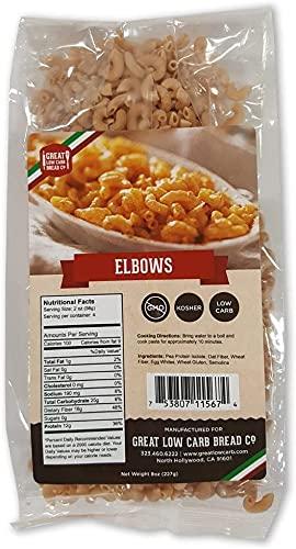 Low Carb Bread Company Pasta (Elbows) (Original Version) (Original Version),1 Pack