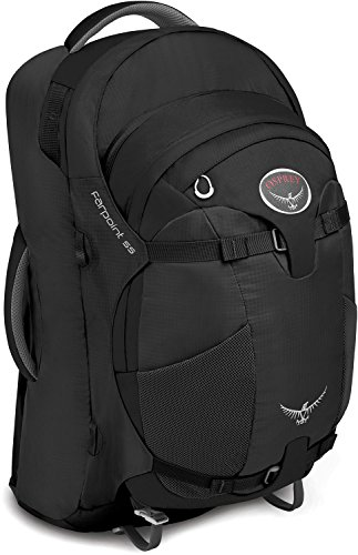 Osprey Farpoint 55 Travel Backpack (2015 Model), Charcoal Gray, Medium/Large