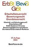 Erbschaftsteuerrecht / Bewertungsrecht / Grundsteuerrecht: Bewertungsgesetz, Bewertungsgesetz-DDR (Auszug), Reichsbewertungsdurchführungsverordnung ... Rechtsstand: 1. März 2021 (Beck-Texte im dtv)