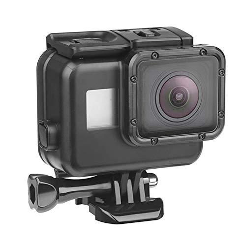 FUQUANDIAN 45m bajo el Agua Impermeable de la Caja for GoPro héroe 7 6 5 4 3 + Negro cámara de la acción Protectora de la Caja de Accesorios Accesorios de Soporte (Colour : For Hero 7 6 5 Black)