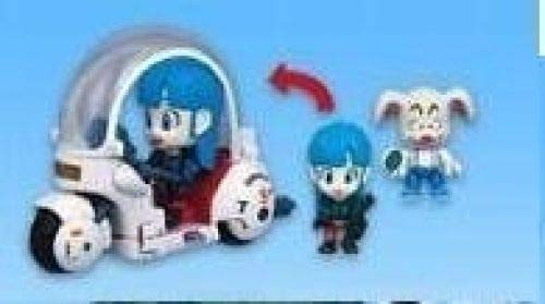 Dragon Ball Mecha & Figure : Set B Bulma + Oolong + scooter capsule
