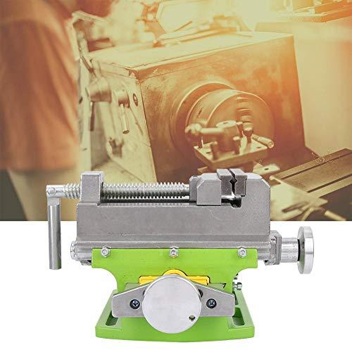 Fresa de prensa de taladro de tornillo de deslizamiento cruzado de 3 ', prensa de taladro de tornillo de deslizamiento cruzado, máquina de aleación de aluminio de abrazadera de banco X-Y de 2 vías