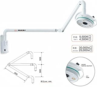 Alkita 36W LED Wall Hanging Medical Dental Shadowless Lamp Surgical Light Lamp