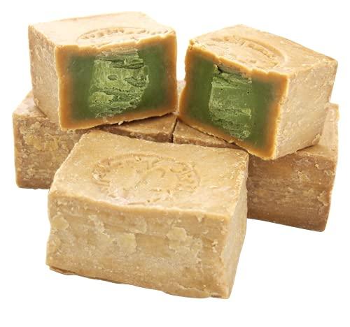 Marwan Najjar - Natürliche Olivenöl - Lorbeer Seife aus Kessab (4 Stück/800g)