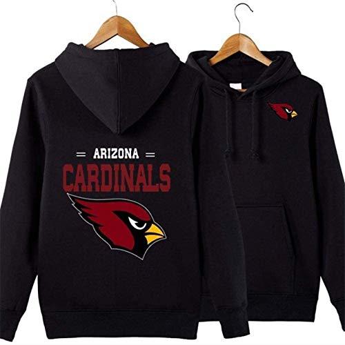 Sudadera unisex para hombre, diseño de Arizona Cardinals Rugby Fans Jersey Marea Marea Casual Sudadera de manga larga primavera chaqueta (tamaño mediano)