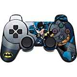 Skinit Decal Gaming Skin for PS3 Dual Shock Wireless Controller - Officially Licensed Warner Bros Batman Ready for Action Design