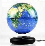 Globo terráqueo Flotante, Escritorio de Oficina de 8 ', Globo terráqueo levitante magnético, Globo terráqueo Giratorio con Mapa del Mundo para Regalo Educativo para niños, B