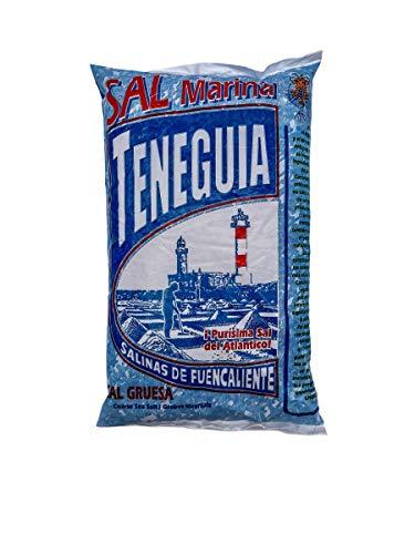 LOUXA Sal Marina Teneguia grobes Meersalz aus La Palma 100% ökologisch 1 kg (9,99 € / kg)