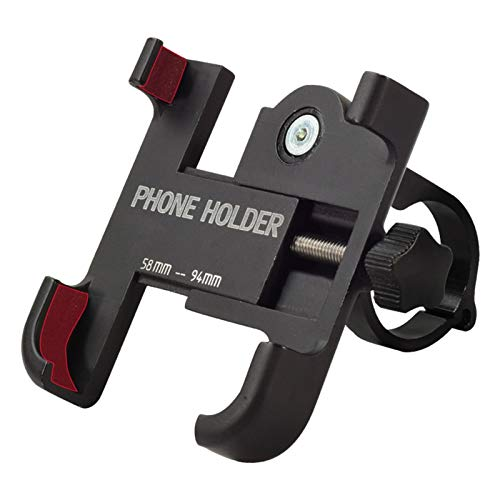 LXRZLS 3.5'-6.2' Ajustable Soporte for teléfono Celular Titular de Bicicletas Teléfono de aleación de Aluminio del Manillar de la Bici de teléfono Soporte de Montaje en BTT Bicicleta de montaña