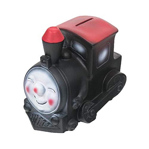 HMF 48923 Spardose Eisenbahn mit Schlüssel | Sparbüchse | 9,5 x 12,5 x 15 cm