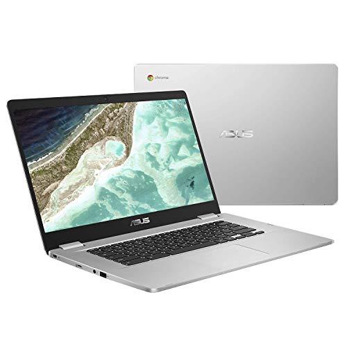 Asus Chromebook C523NA-BR000 Ordinateur Portable 15.6 HD (Celeron, RAM 4 Go, eMMC 64 Go, Chrome OS) Clavier AZERTY Français