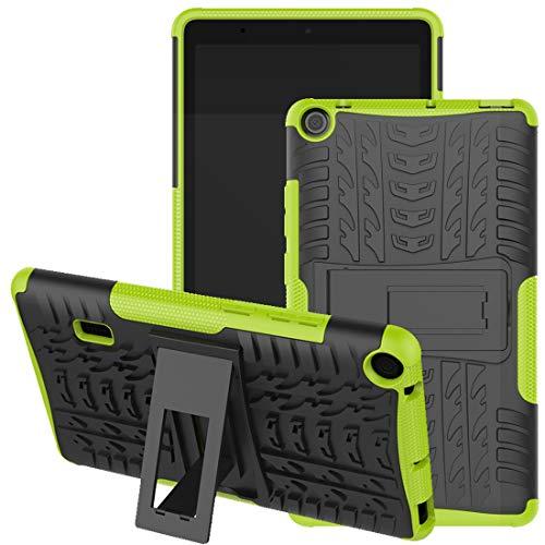 Funda HUAWEI MediaPad T3 7 WiFi, Jhxtech Armor Style Hybrid PC + TPU Funda protectora con soporte para Huawei MediaPad T3 WiFi 179mm 7.0 pulgadas Tablet Cover Protección