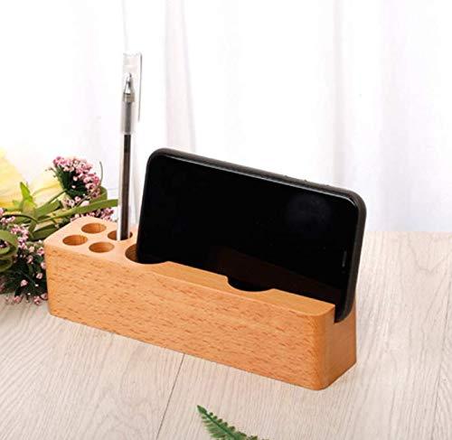 ペン立て卓上文房具収納用品 小物入れ ペン立て デスクペンホルダー木製 一本用 ペン・メモ・カードスタンド 万年筆ホルダー 筆たて デスクペンスタンド 卓上収納 ペン立て ペンスタンド カラトリースタンド