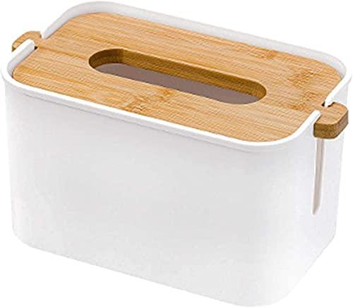 Ghlevo Caja de Tejido de Papel para Dormitorio/baño/tocador/encimera/cómoda/Soporte Nocturno/de Oficina/Coche