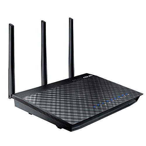 Asus RT-AC66U B1 Router (Ai Mesh WLAN System, WiFi 5 AC1750, 4x Gigabit LAN, App Steuerung, AiProtection, USB 3.0)