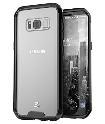 Jaagd Galaxy S8 Plus Case, Hybrid Shock Modern Slim Non-slip Grip Cell Phone Cases for Samsung Galaxy S8 Plus