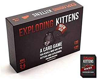 Party Toys EXPLODING KITTENS Cards NSFW DECK  Board Games
