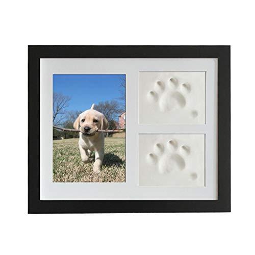 JIACUO huisdier Memorial fotolijst katten en honden Paw afdrukken fotolijst voor kamer muur of tafel Decor