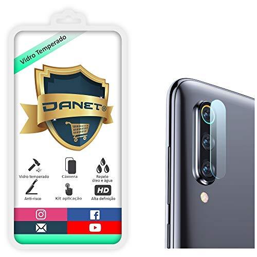 Película De Vidro Temperado Para Câmera Xiaomi Mi A3 Tela De 6.08 Polegadas Proteção Da Lente Blindada Anti Impacto Top Premium - Danet