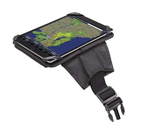 Flight Outfitters iPad Slimline Pilot-Friendly Compact Cockpit Flight Kneeboard, Large, Black