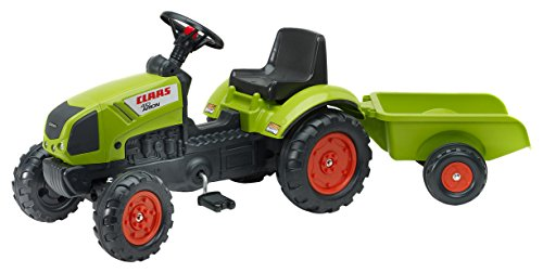 Falquet & CIE–2040A–Claas Arion 410/Anhänger–Grün