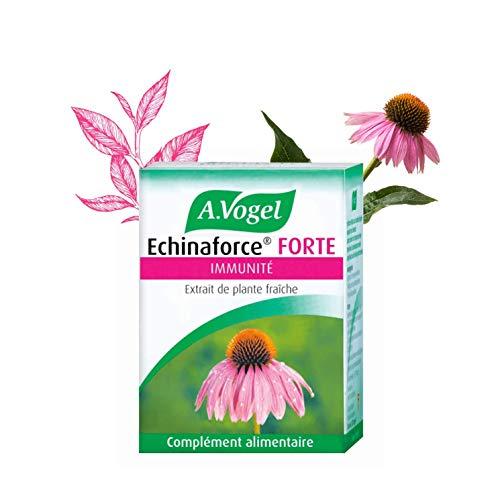 Echinaforce Forte A.Vogel | Extrait de Plante Fraîche d'Échinacea | Immunité | 30 comprimés | Laboratoire Suisse