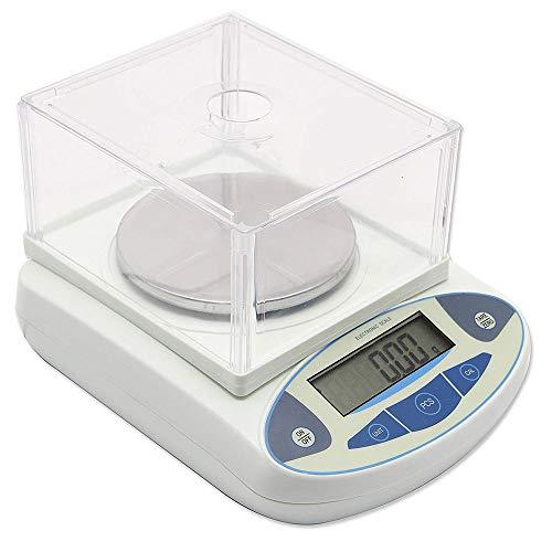 Bilancia da laboratorio di precisione digitale Bilancia da laboratorio elettronica Bilance da cucina di precisione Bilance elettroniche da 0,01 g calibrate e pronte all'uso (1000g)