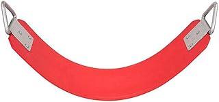 مقعد أرجوحة للعب في الأماكن المغلقة/المفتوحة من RBWToyYS لون أحمر للأطفال أنشطة كرسي أرجوحة rbwtoy13125.